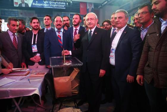 CHP'de Parti Meclisi resmi seçim sonuçları belli oldu