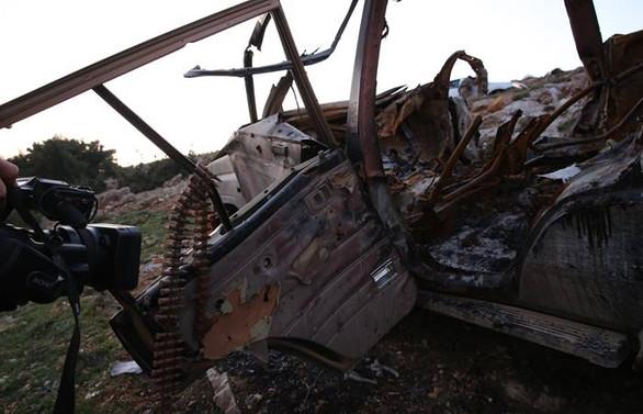 Afrin'de intihar saldırısı girişimi tank atışıyla önlendi
