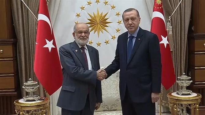 Erdoğan, SP lideri Karamollaoğlu ile görüşecek