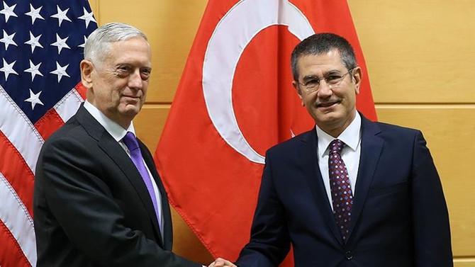 Mattis: Türkiye'nin Münbiç baskıları devam ediyor