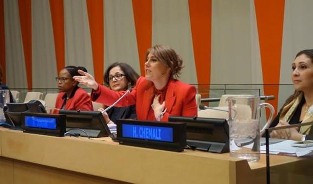 Hanzade Doğan Boyner BM'de konuştu
