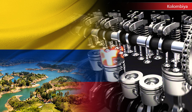 Kolombiya pazarı için dizel motor yedekleri ithal edecek