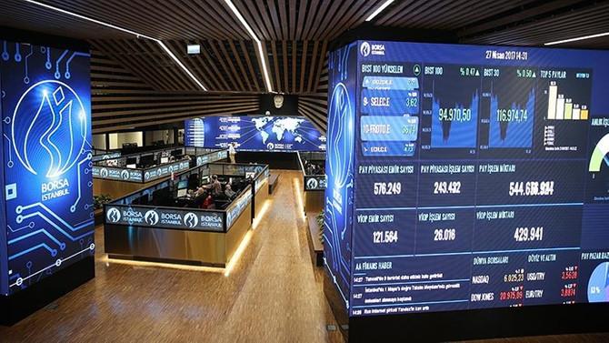 Borsa ilk yarıda Avrupa'yla birlikte düştü