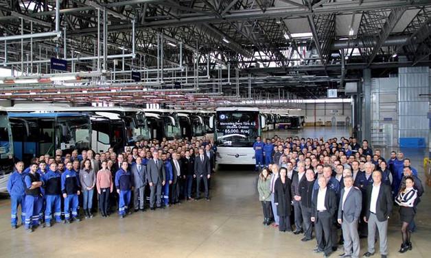 Mercedes-Benz Türk, 85 bininci otobüsü üretti