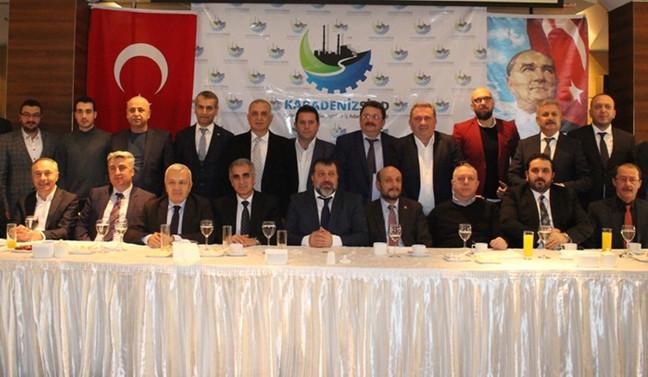 Karadenizli iş adamları Bursa'da dernek çatısı altında buluştu