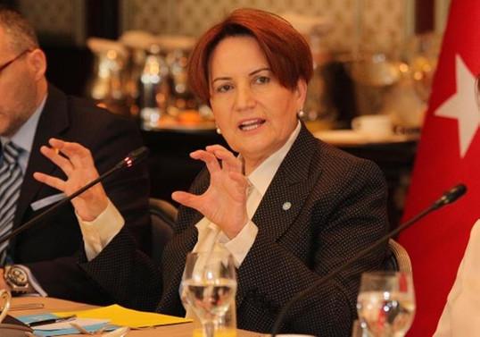 İYİ Parti Genel Başkanı Akşener'den ittifak iddiası
