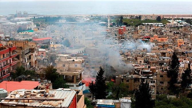 Lübnan'daki Filistin mülteci kampında çatışma: 1 ölü