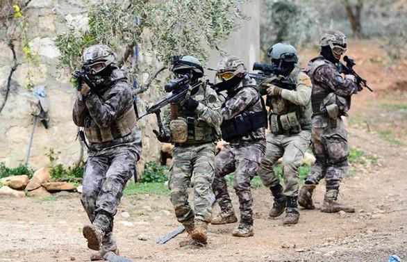 Özel Harekat Afrin görevinde