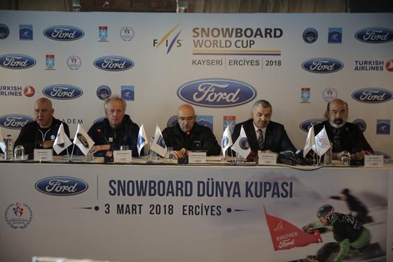 Ford Snowboard Dünya Kupası 3. kez Erciyes'te