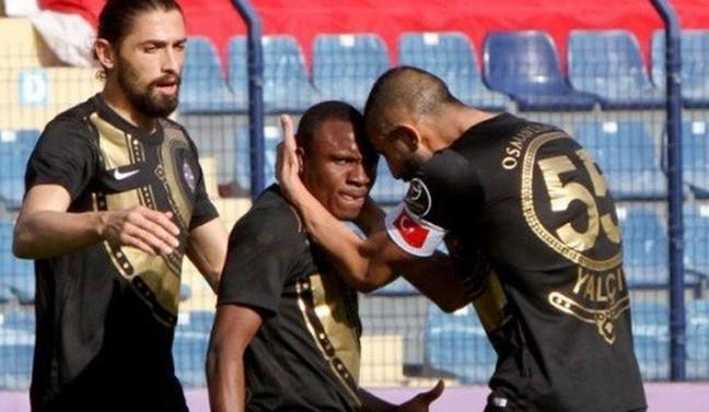 Osmanlıspor 7 maç sonra galibiyetle tanıştı