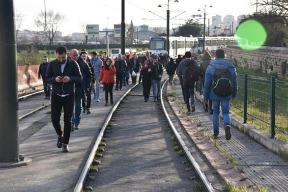 Metro İstanbul'dan tramvay arızası açıklaması