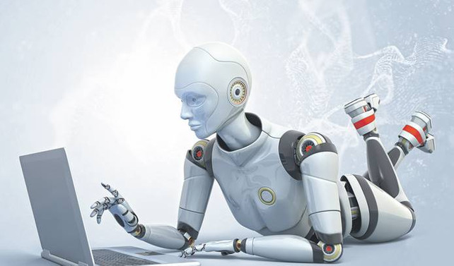 Robot çalışır insan harcar
