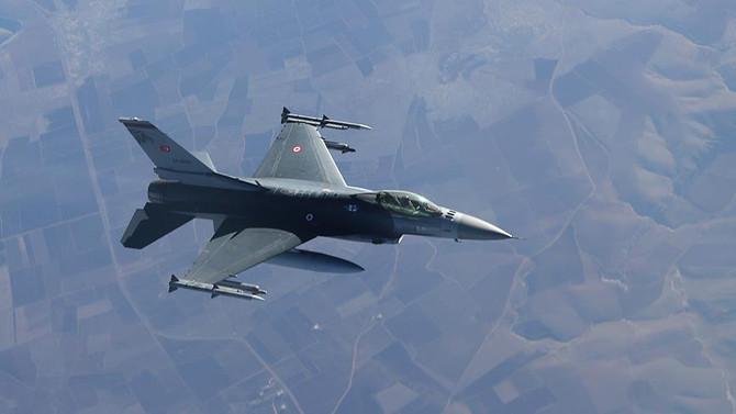 Irak'ın kuzeyindeki 8 hedef imha edildi