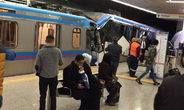 İstanbul'da tramvaylar çarpıştı: 13 yaralı
