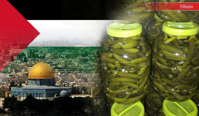 Filistinli müşteri salatalık turşusu ithal edecek