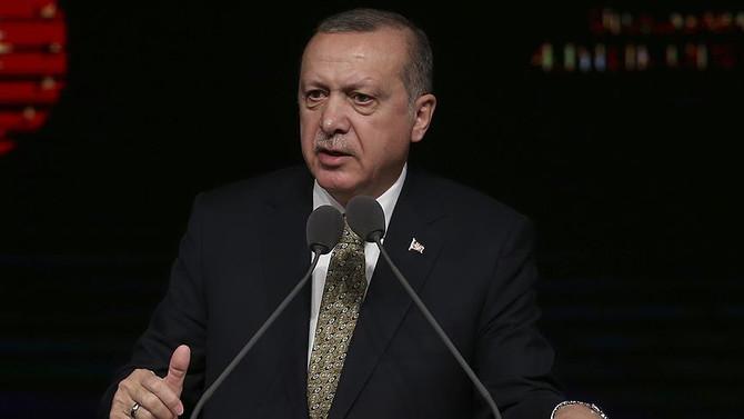 Erdoğan'dan AP'ye cevap: İşimiz bitmedikçe çıkmayacağız