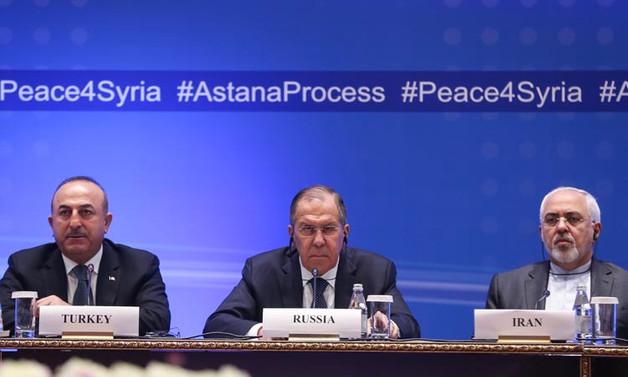 Lavrov, Çavuşoğlu ve Zariften ortak bildiri