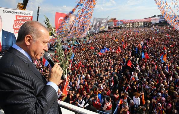 Erdoğan, ABD'ye silah tepkisini sürdürdü