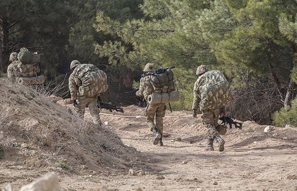 Afrin ilçe merkezine operasyon başladı