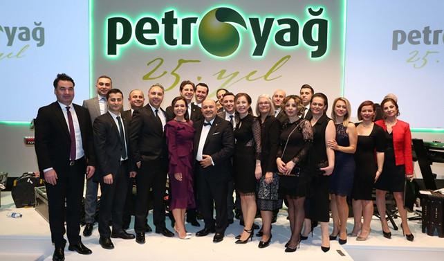 Petroyağ 25'inci yılını görkemli bir törenle kutladı