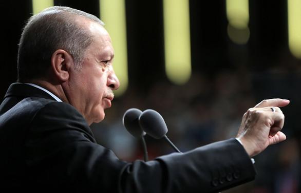 Erdoğan'dan ABD'ye: PYD'ye verdiğiniz silahlar bize geçiyor
