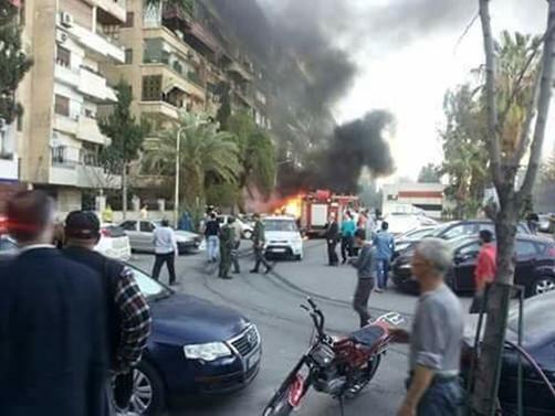 Suriye'nin başkentinde saldırı: Çok sayıda ölü var