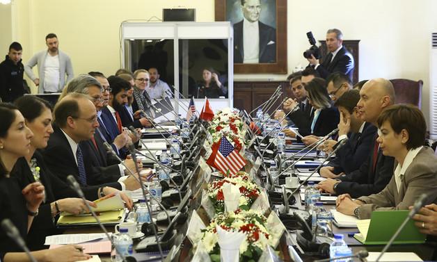 Türk ve ABD heyetleri Ankara'da bir araya geldi