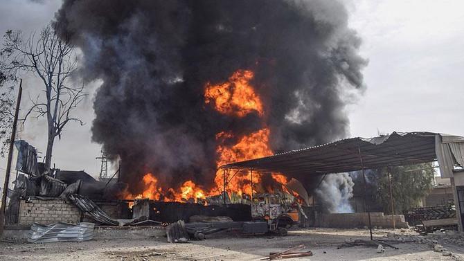 Doğu Guta'da sığınağa saldırı: 37 kişi öldü