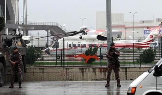 Erdoğan'ın uçağına hava muhalefeti