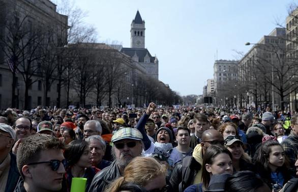 Silah karşıtı protestolara Beyaz Saray'dan destek