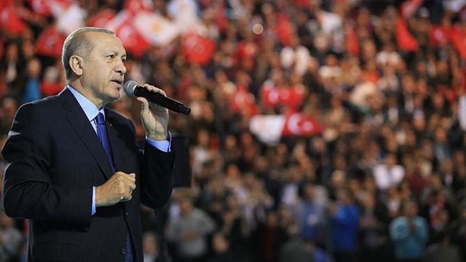Cumhurbaşkanı Erdoğan'dan Tel Rıfat mesajı