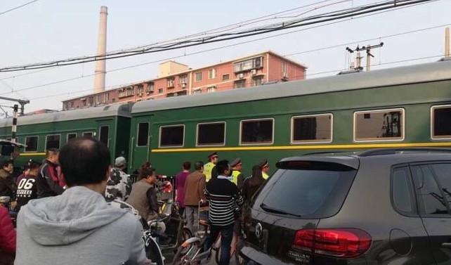 Kim'in trenle Pekin'e gittiği iddia edildi
