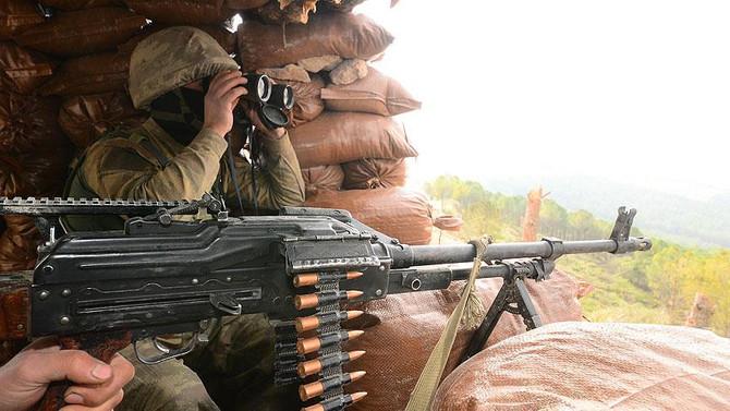 Amanos'taki çatışmada yaralanan asker şehit oldu