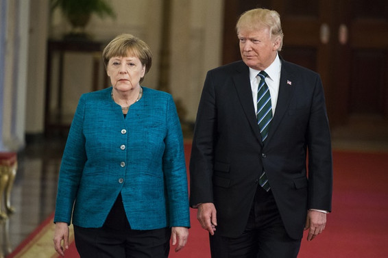 Trump ile Merkel'den 'İngiltere'yle dayanışma' vurgusu