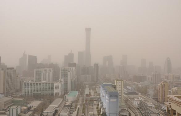 Çin'de hava kirliliği nedeniyle mavi alarm verildi