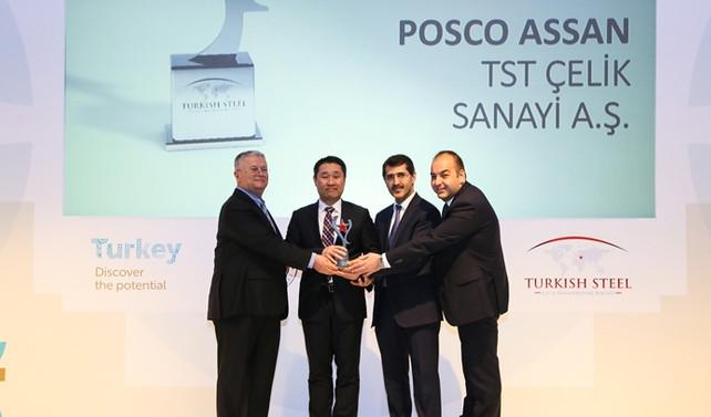Posco Assan TST, paslanmaz çelik ihracatında birinci sırada