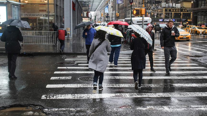ABD'de fırtına hayatı olumsuz etkiledi