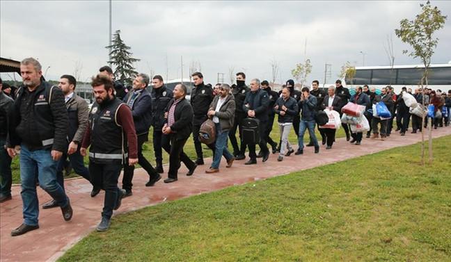 72 ildeki 'vurgun' operasyonunda 56 tutuklama