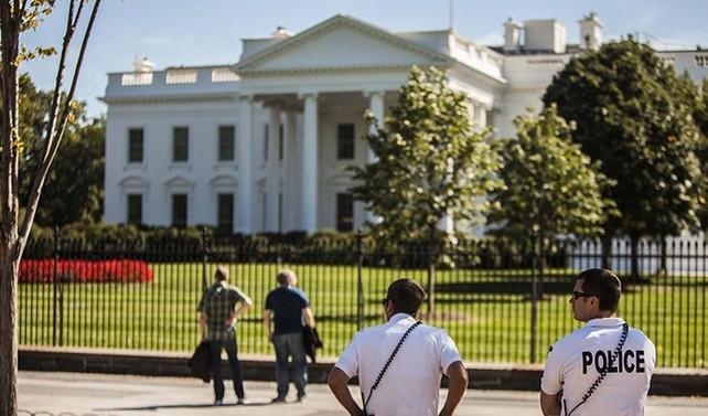 Beyaz Saray yakınında intihar girişimi