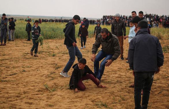 Gazze'de Toprak Günü gerginliği: 12 ölü