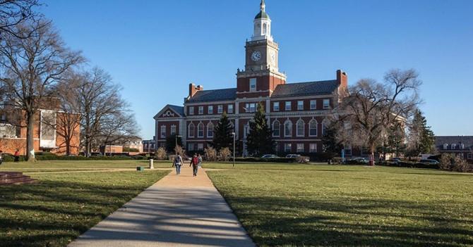 Öğrenciler Howard Üniversitesi'ni işgal etti