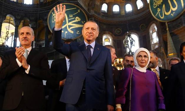 Erdoğan: Çatlayın, patlayın AKM'yi yıktık