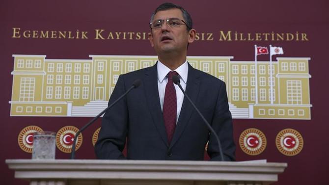 CHP'den 'seçim düzenlemesi'ne tepki