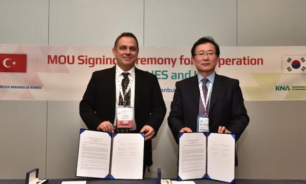 Türkiye ve Güney Kore, nükleer işbirliği anlaşması imzaladı