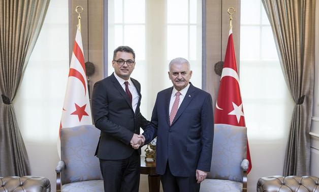 KKTC Başbakanı Erhürman Ankara'da