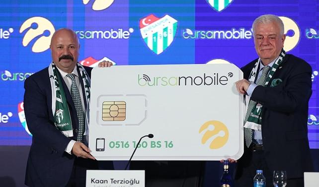 Turkcell'den Bursa'ya özel Bursa Mobile hattı