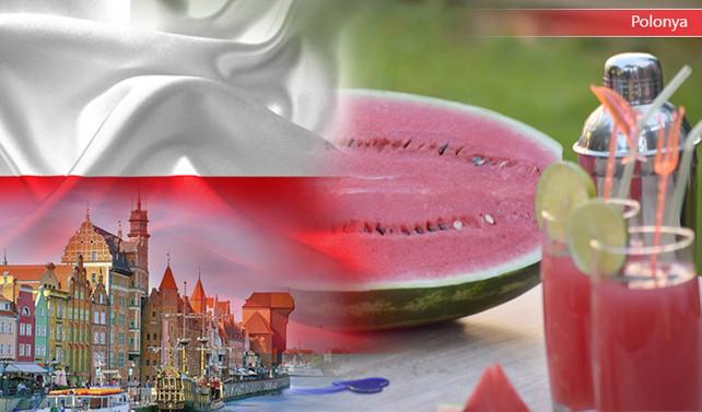Polonyalı firma 25 ton karpuz suyu ithal edecek