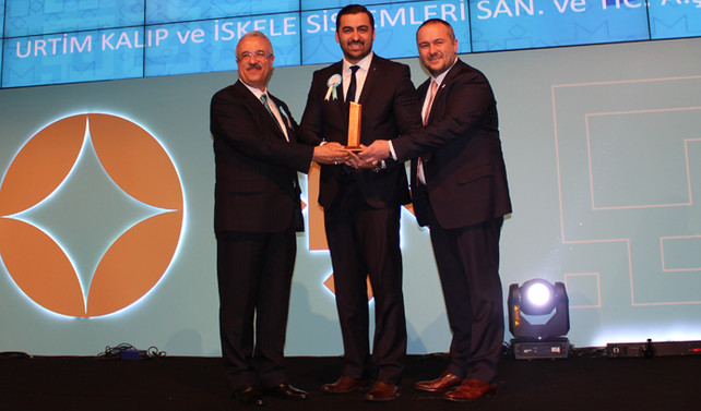 URTİM 'İhracatın Metalik Yıldızı' seçildi