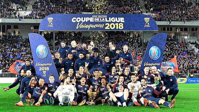 Fransa Lig Kupası'nda PSG üst üste 5'inci kez şampiyonluğa ulaştı