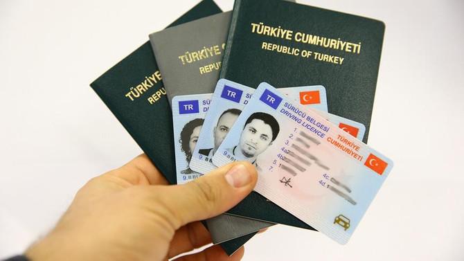'Pasaport ve ehliyet'te yeni dönem
